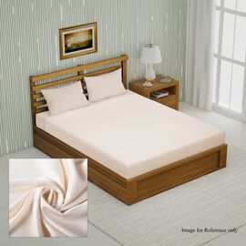 Super Auction - 4 Piece Set - Bamboo 1 Flat Sheet, 1 Fitted sheet & 2 Pillowcases) Size: King - Ivor