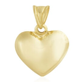 Istanbul Treasure Collection-  9K Yellow Gold Heart Pendant