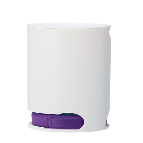 Stackable 7-Day Pill Case in White