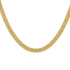 Hatton Garden Close Out 9K Yellow Gold Bismark Necklace (Size 18), Gold wt. 10 Gms