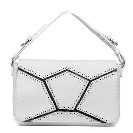 Bulaggi Collection  - Skylar - Handbag With Adjustable and Removable Strap (28x24x08 cm) - White