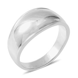 Designer Inspired - Sterling Silver Band Ring, Silver wt 5.37 Gms.