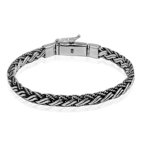 Royal Bali Collection Sterling Silver Spiga Bracelet (Size 8), Silver wt 38.83 Gms.