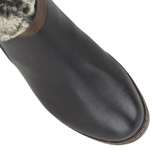 Lotus Charmaine Heeled Mid-Calf Ladies Boots (Size 4) - Black