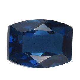 A Blue Triplet Quartz Cushion 8x6mm -1.46 Ct