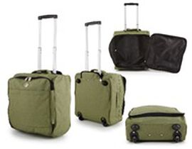 Green Cabin Bag with Extendable Arms