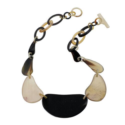 100% Genuine Buffalo Horn Necklace 20 Inch