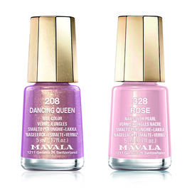 Mavala: Dancing Queen - 208 & Rose - 328 (Duo Mini Colour 2x5ml)