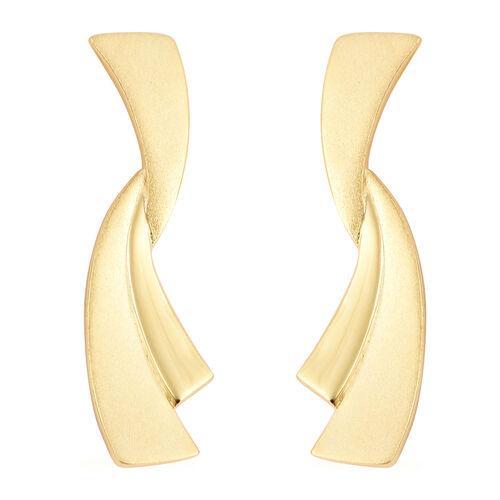 RACHEL GALLEY Dangle Earrings in Yellow Gold Plated Sterling Silver