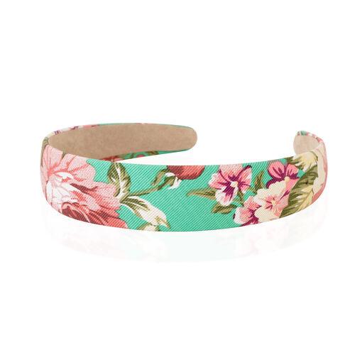Limited Edition- Green Colour Flower Hairband