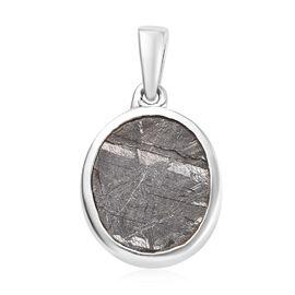 Meteorite (Ovl 12x10mm) Pendant in Platinum Overlay Sterling Silver 9.00 Ct.