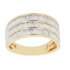 New York Close Out Deal 0.50 Ct Diamond Eternity Band Ring in 14K Gold I2 I3 GH