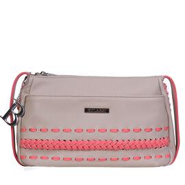 Bulaggi Collection - Jadey - Crossover Handbag with Adjustable Strap (23x18x07 cm) - Pink