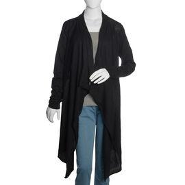 100% Cotton Black Colour Apparel (Size 80x45 Cm)