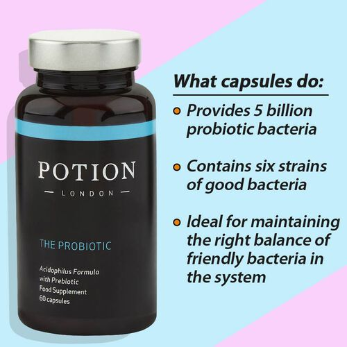 Potion London: The Multibiotic  - 60 Capsules