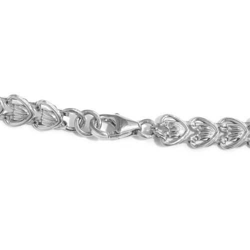 One Time Mega Deal-Stainless Steel Link Chain with Lobster Lock (Size 20)
