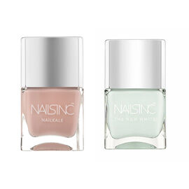 Nails Inc: Swan Street - 14ml & Mayfair Lane - 14ml