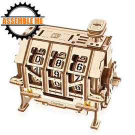 UGears Mechanical STEM Lab Counter Wooden Model Kit