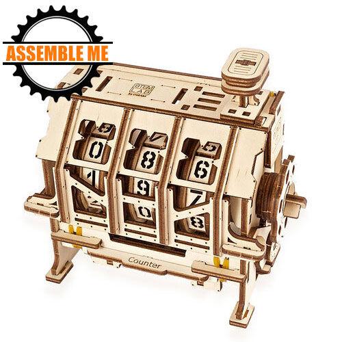 UGears Mechanical STEM Lab Counter Wooden Model Kit
