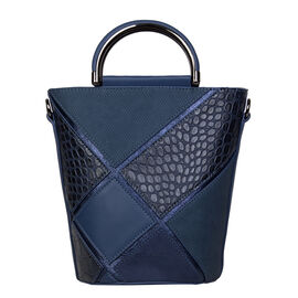 Bulaggi Collection - Carmel Bucket Bag (Size 17x24x17 Cm) - Dark Blue