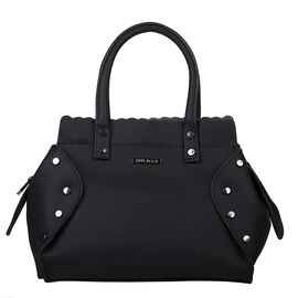 Bulaggi Collection - Hope - Handbag With Removable and Ajustable Strap (28x24x08 cm) - Black