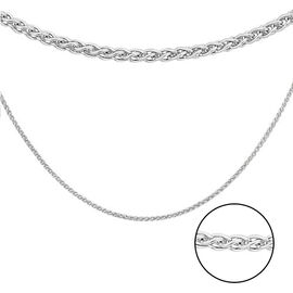 Sterling Silver Spiga Chain (Size 22), Silver wt 3.03 Gms