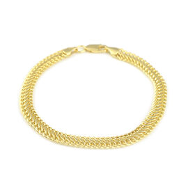 Chain Bracelet in 9K Yellow Gold 7.5 Inch