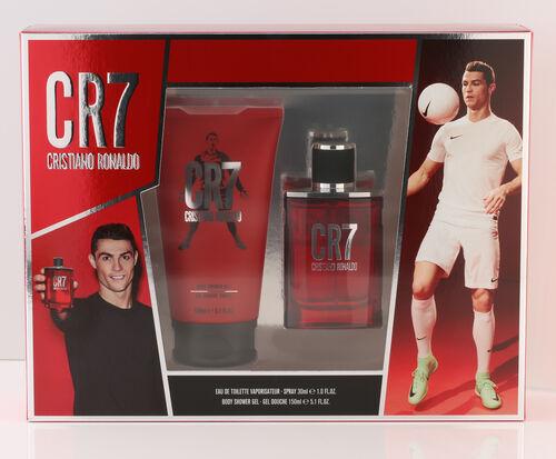 Cristiano Ronaldo: CR7 Homme Eau De Toilette - 30ml & Shower Gel -150 ml