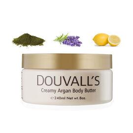 Douvalls: Argan Body Butter (Kelp, Lavender & Lemon) - 240ml