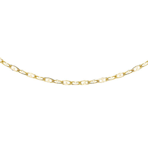 9K Yellow Gold Flat Rambo Chain (Size 20)