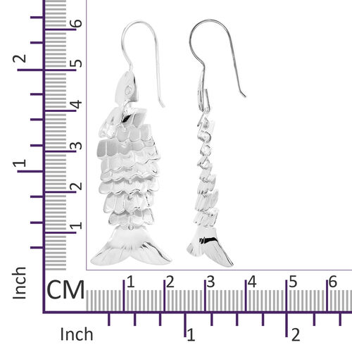 Sterling Silver Hook Earrings, Silver wt 9.80 Gms.