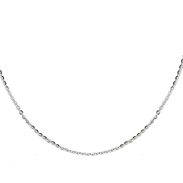 Sterling Silver Trace Chain (Size 28), Silver wt 3.40 Gms