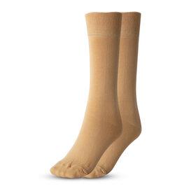 100% Cotton Aloe Fresh Socks (Size 4-8 UK) - Beige