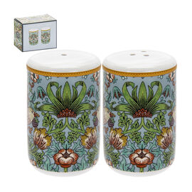 Lesser and Pavey - William Morris Strawberry Thief Teal Salt and Pepper