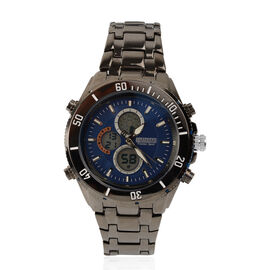 Barkers Of Kensington - Mens Premier Sport Watch With 3 Function Dial and Night Vision Back Light -