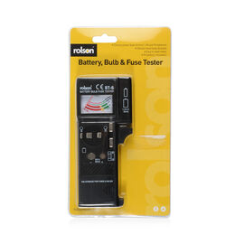 ROLSON Battery Bulb and Fuse Tester