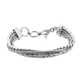 Bali Collection Sterling Silver Bracelet (8 in)