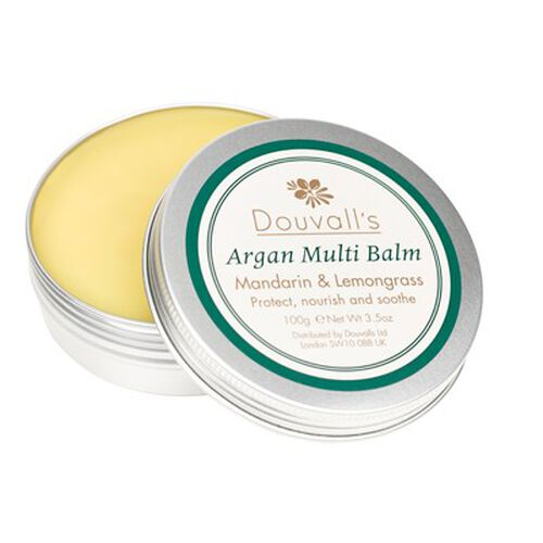 Alicia Douvall 50ml Argan Oil and100g Balm with Cosmetic Bag