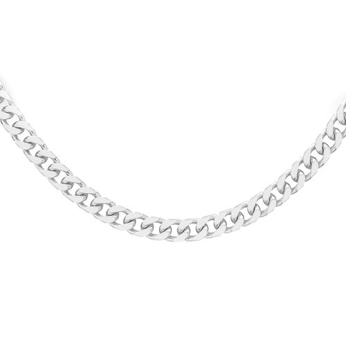 Close Out Deal RHAPSODY 950 Platinum Necklace (Size 18), Platinum Wt 2.90 Gms.