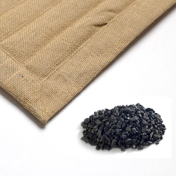 100% Jute Mat Filled with Shungite 2000 Cts (Size 75x45 Cm)