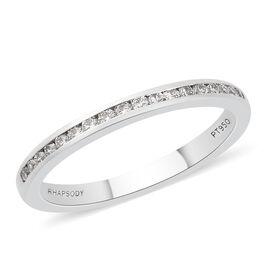 Rhapsody Diamond (0.25 Ct) 950 Platinum Ring  0.250  Ct.