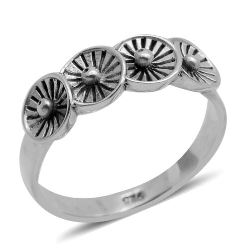Royal Bali Collection Sterling Silver Ring, Silver wt 5.12 Gms.