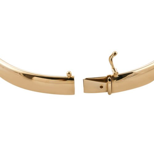 Royal Bali Collection  9K Yellow Gold Bangle (Size 7.50), Gold wt 6.88  Gms.