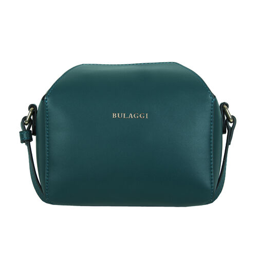 Bulaggi Collection - Bonbon Cute Crossbody Bag with Adjustable Strap (Size 10x12x18cm) - Emerald Gre