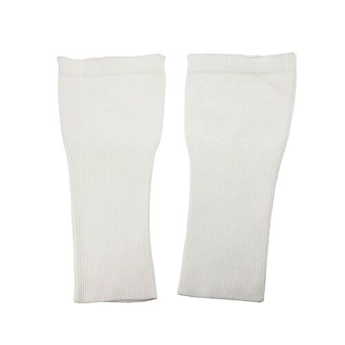 Set of 2 - Elbow Sleeves (Size 33x12 Cm) - White