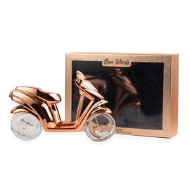 Fathers Day Gift Idea - Glam Wheels: Rose Gold Scooter (2 Wheels) - 89ml Eau De Parfum