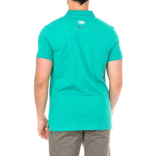Karl Lagerfeld - Mens Basic Polo Short Sleeve - Green Size - S