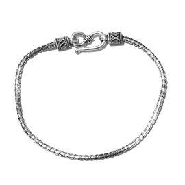 Sterling Silver Bismark Bracelet (Size 7.5), Silver wt 5.01 Gms.