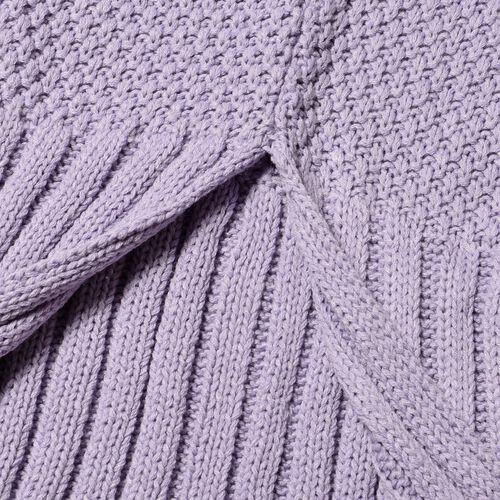 Purple Mermaid Tail Blanket (One Size- Large)