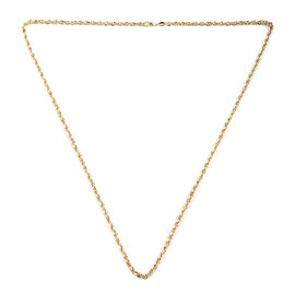 Close Out - 9K Yellow Gold Prince of Wales Necklace (Size 26), Gold wt 5.40 Gms